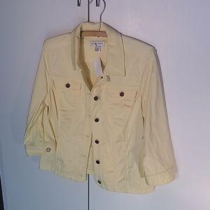 Jackets & Blazers - Yellow Christopher and Banks outdoor jacket medium
